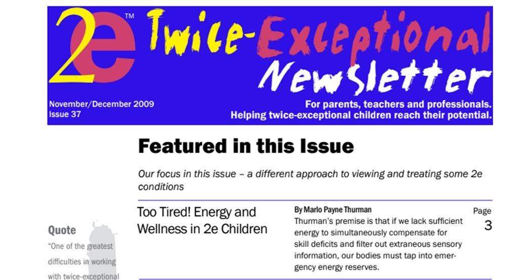 2e Newsletter Issue 37: November/December 2009