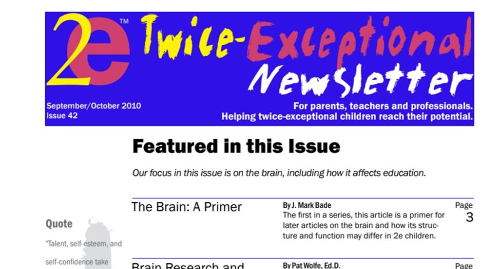 2e Newsletter Issue 42: September/October 2010