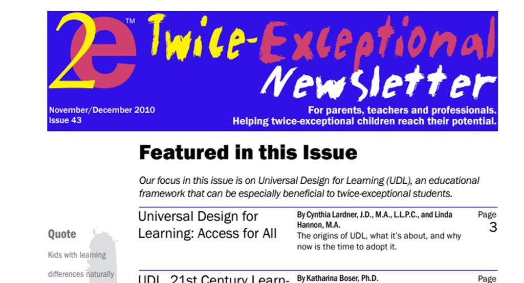 2e Newsletter Issue 43: November/December 2010