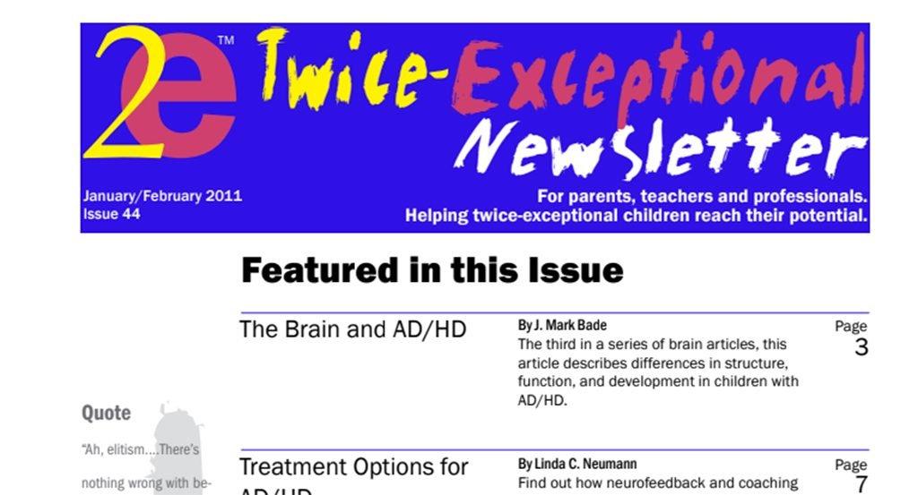 2e Newsletter Issue 44: January/February 2011