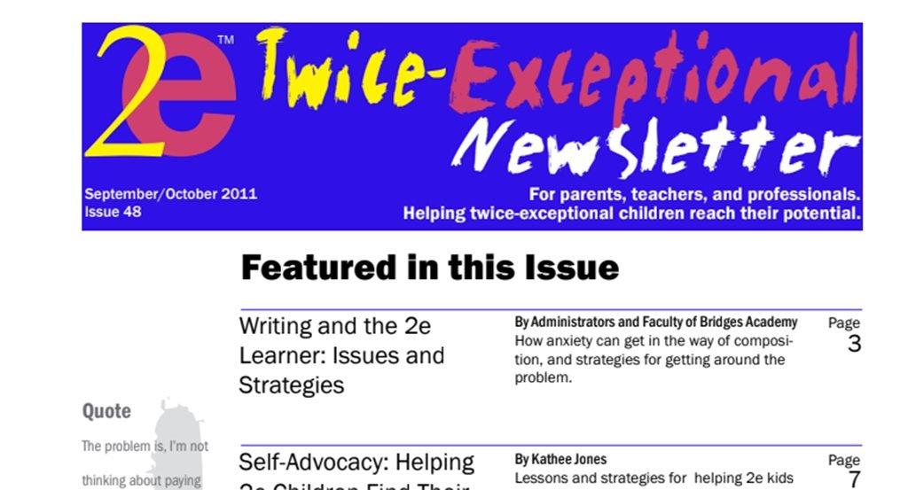 2e Newsletter Issue 48: September/October 2011
