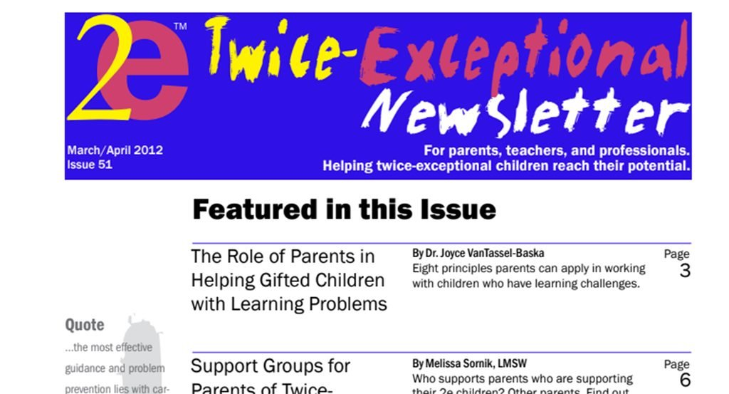 2e Newsletter Issue 51: March/April 2012