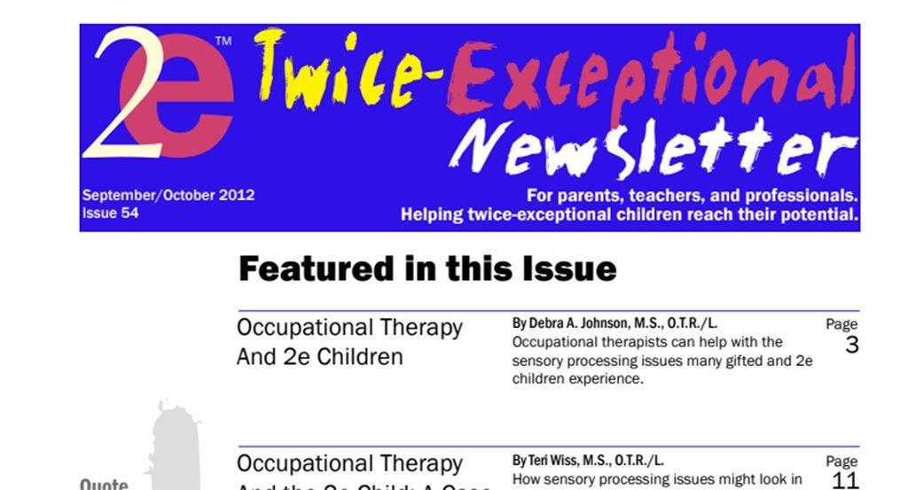 2e Newsletter Issue 54: September/October 2012