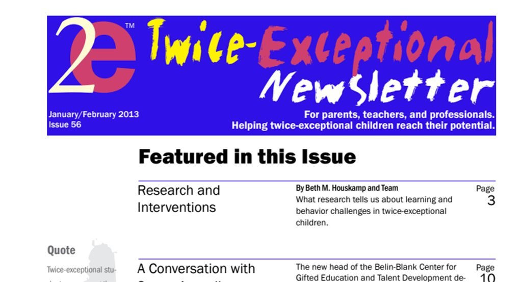 2e Newsletter Issue 56: January/February 2013