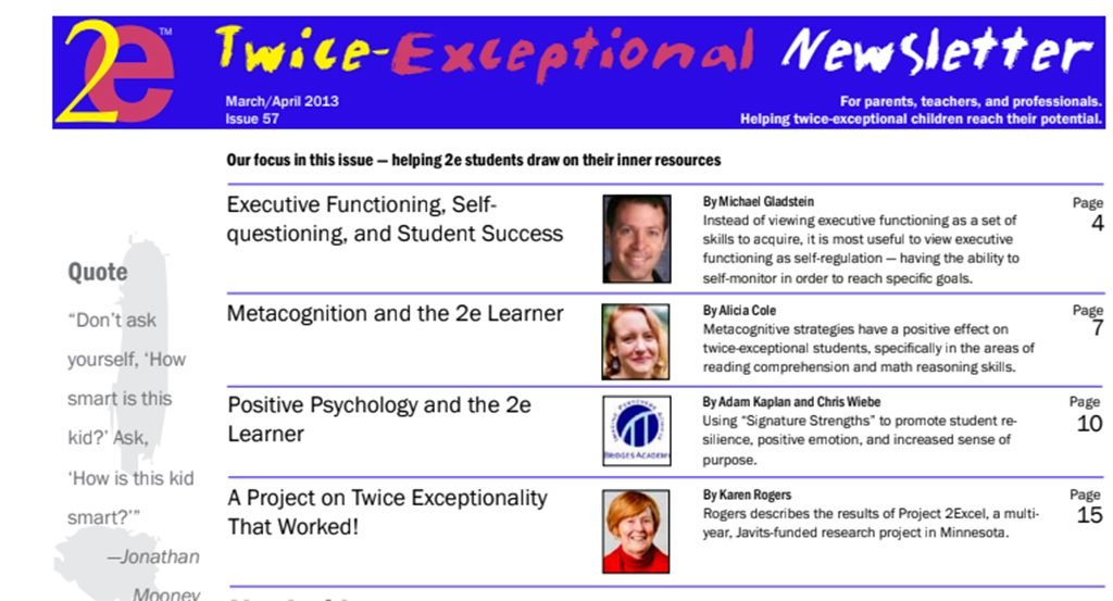 2e Newsletter Issue 57: March/April 2013