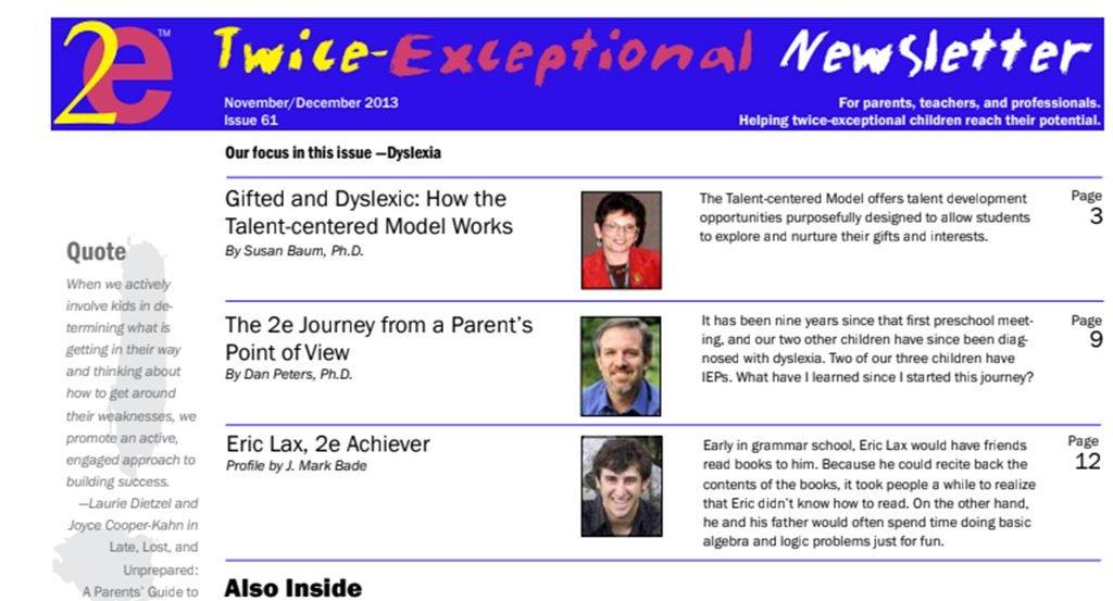 2e Newsletter Issue 61: November/December 2013