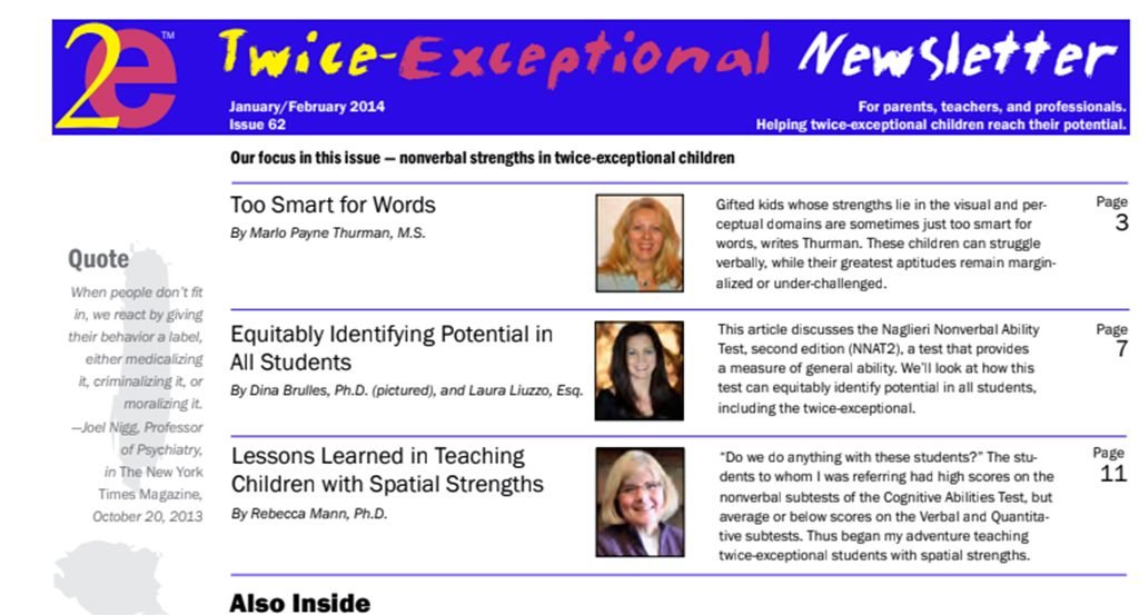 2e Newsletter Issue 62: January/February 2014