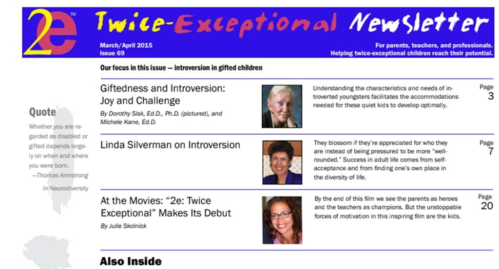 2e Newsletter Issue 69: March/April 2015
