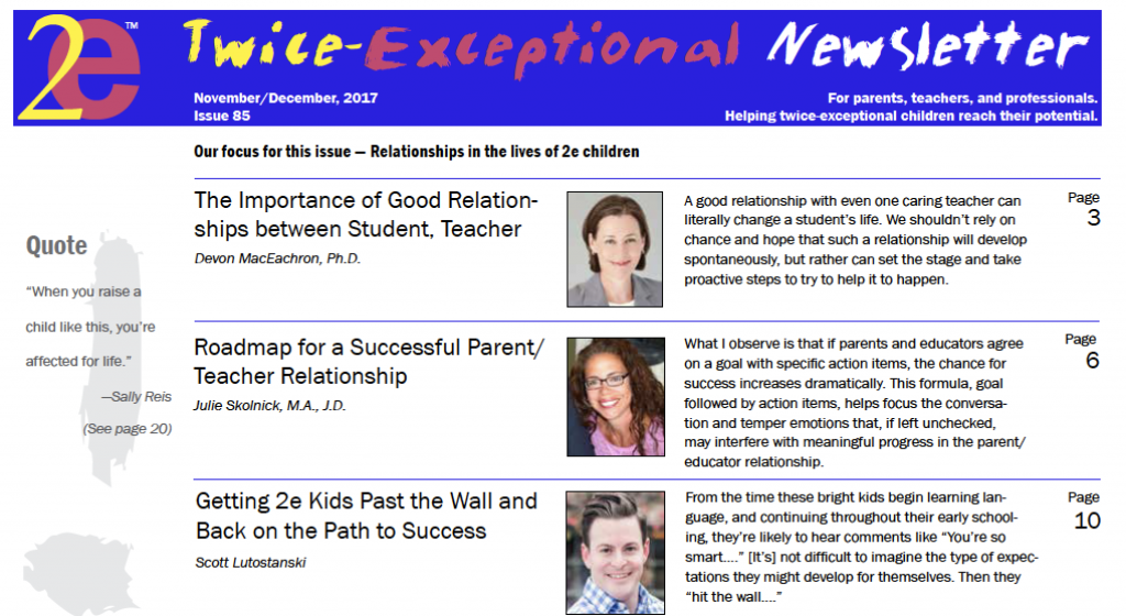 2e Newsletter Issue 85