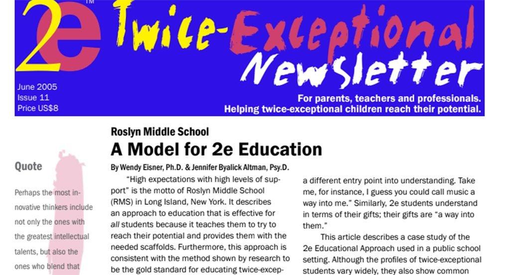 2e Newsletter Issue 11: June 2005