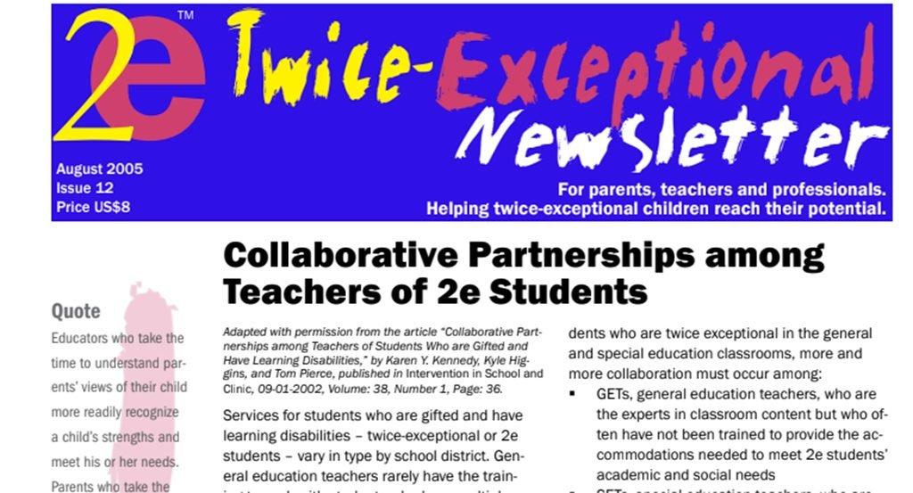 2e Newsletter Issue 12: August 2005