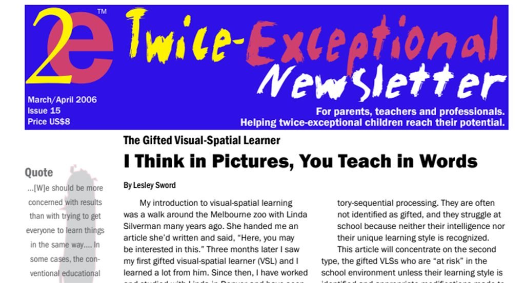 2e Newsletter Issue 15: March/April 2006