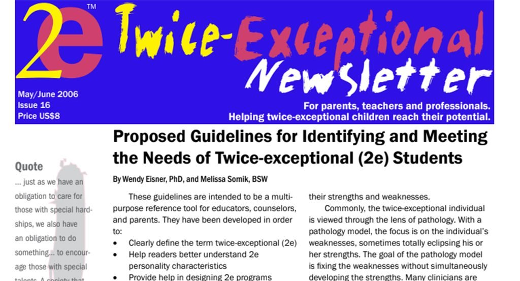 2e Newsletter Issue 16: May/June 2006