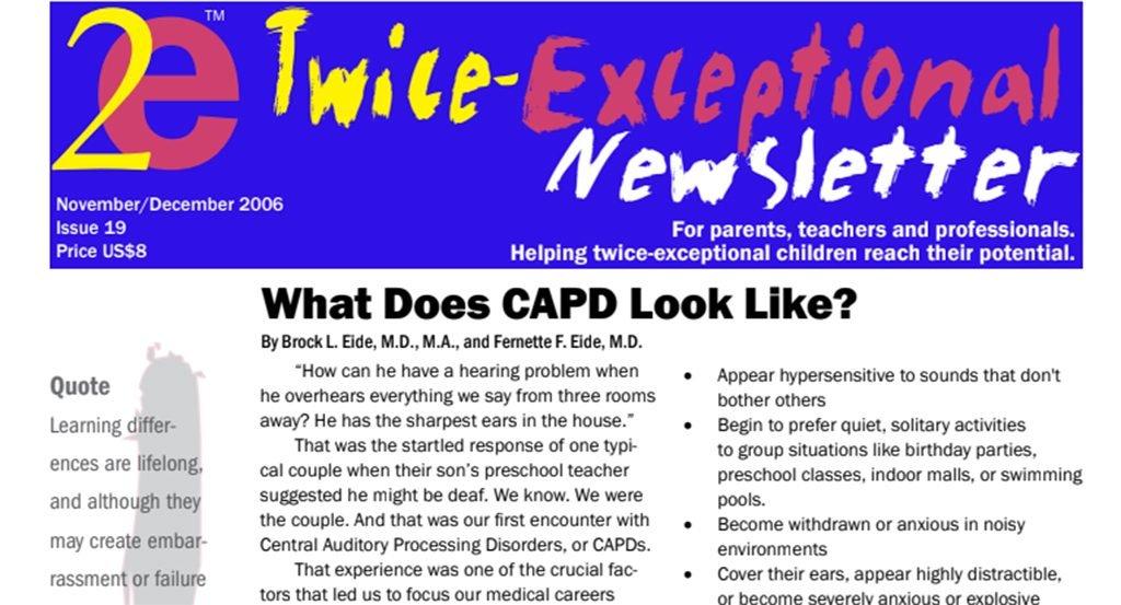 2e Newsletter Issue 19: November/December 2006