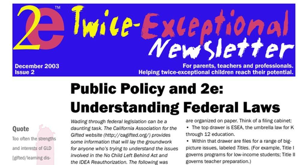 2e Newsletter Issue 2: December 2003