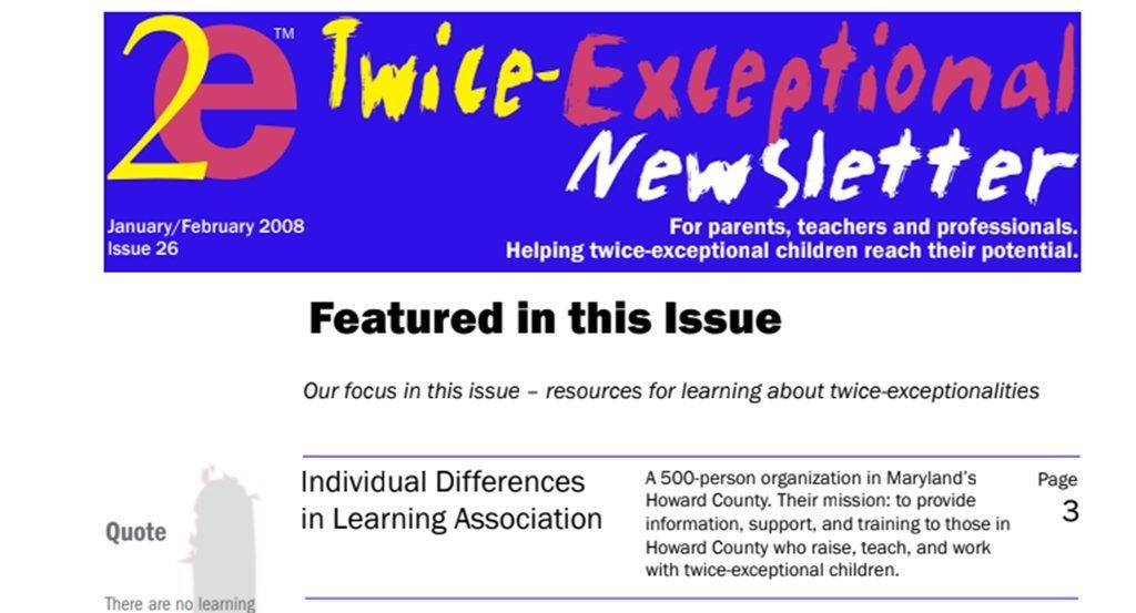2e Newsletter Issue 26: January/February 2008