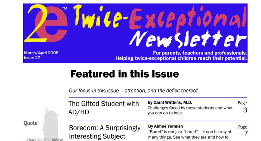 2e Newsletter Issue 27: March/April 2008