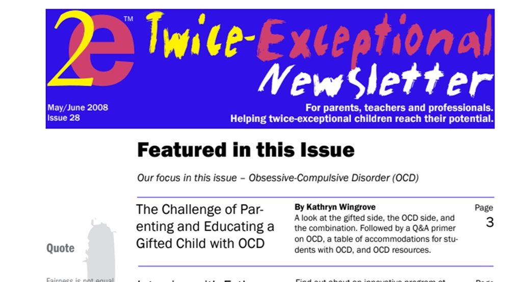 2e Newsletter Issue 28: May/June 2008