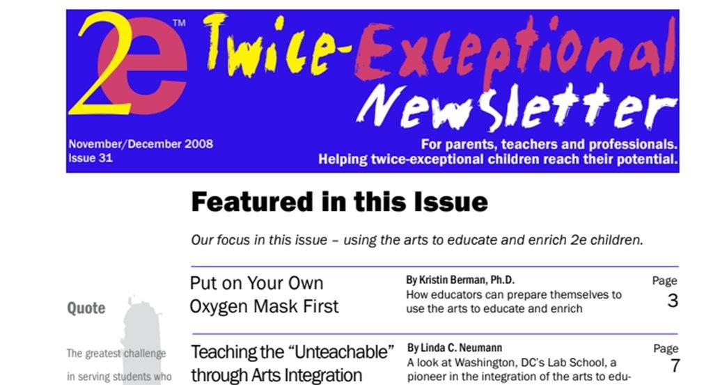 2e Newsletter Issue 31: November/December 2008