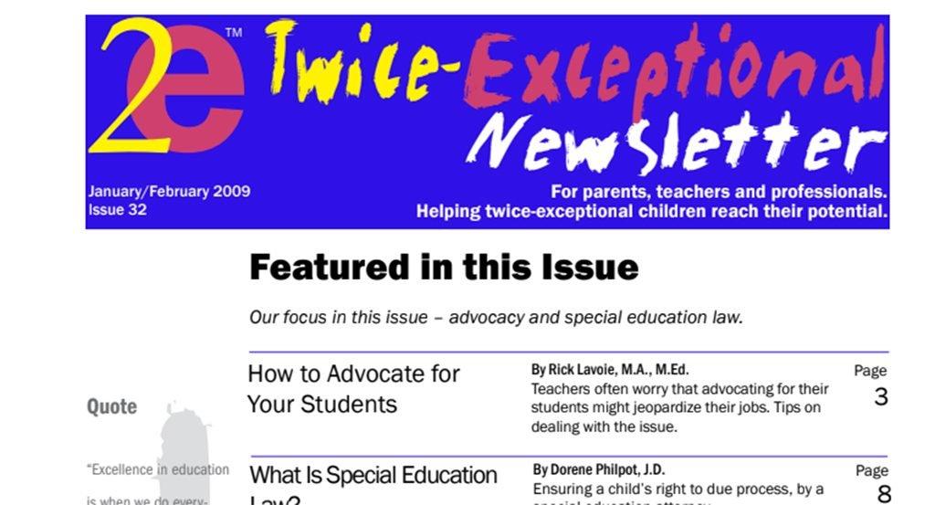 2e Newsletter Issue 32: January/February 2009