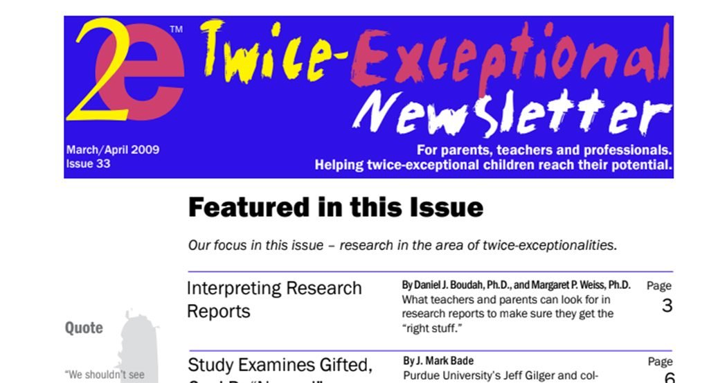 2e Newsletter Issue 33: March/April 2009
