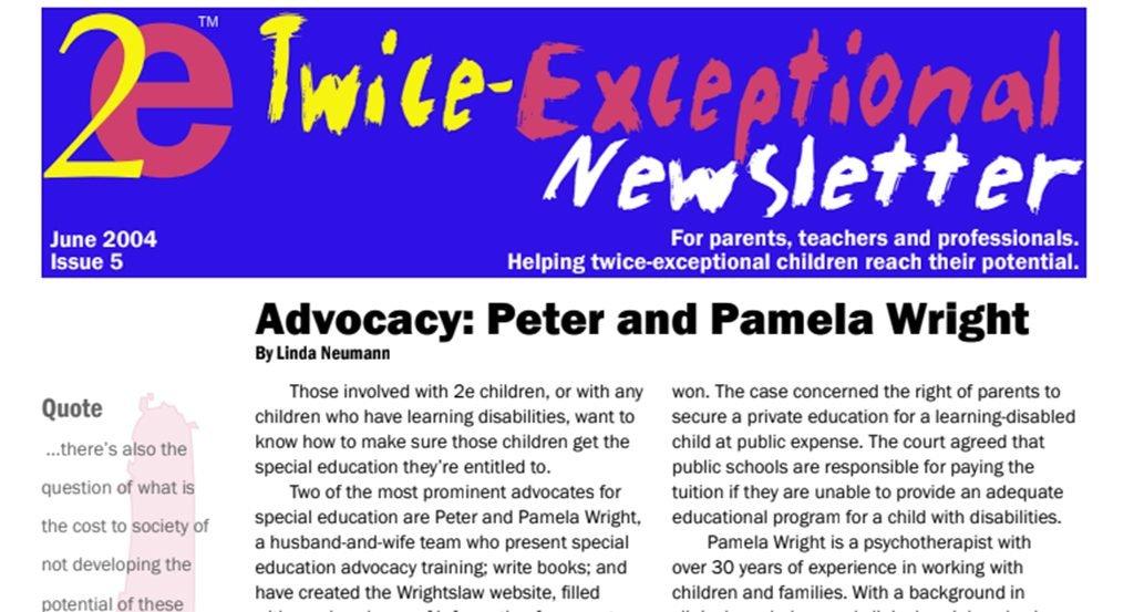 2e Newsletter Issue 5: June 2004