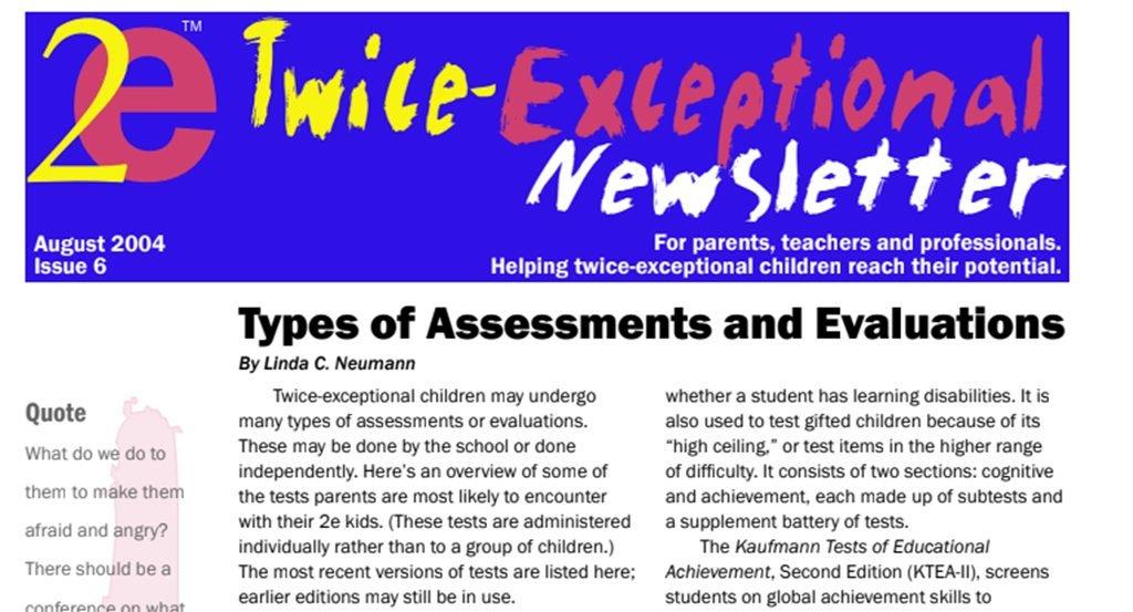 2e Newsletter Issue 6: August 2004