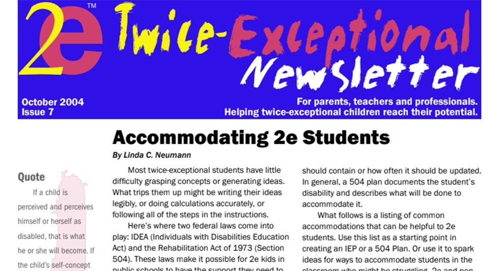 2e Newsletter Issue 7: October 2004