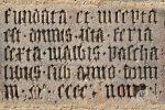 Latin stone tablet
