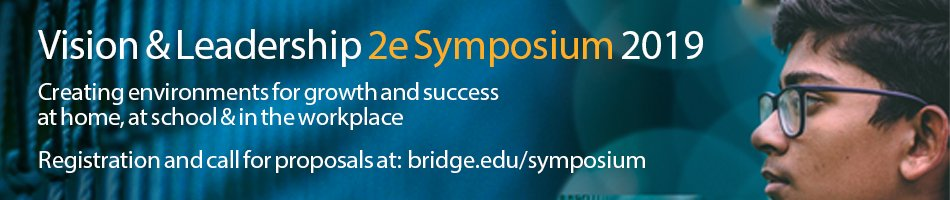 2019 Vision and Leadership 2e Symposium