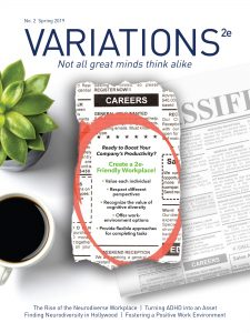 Variations magazine issue 2 cover