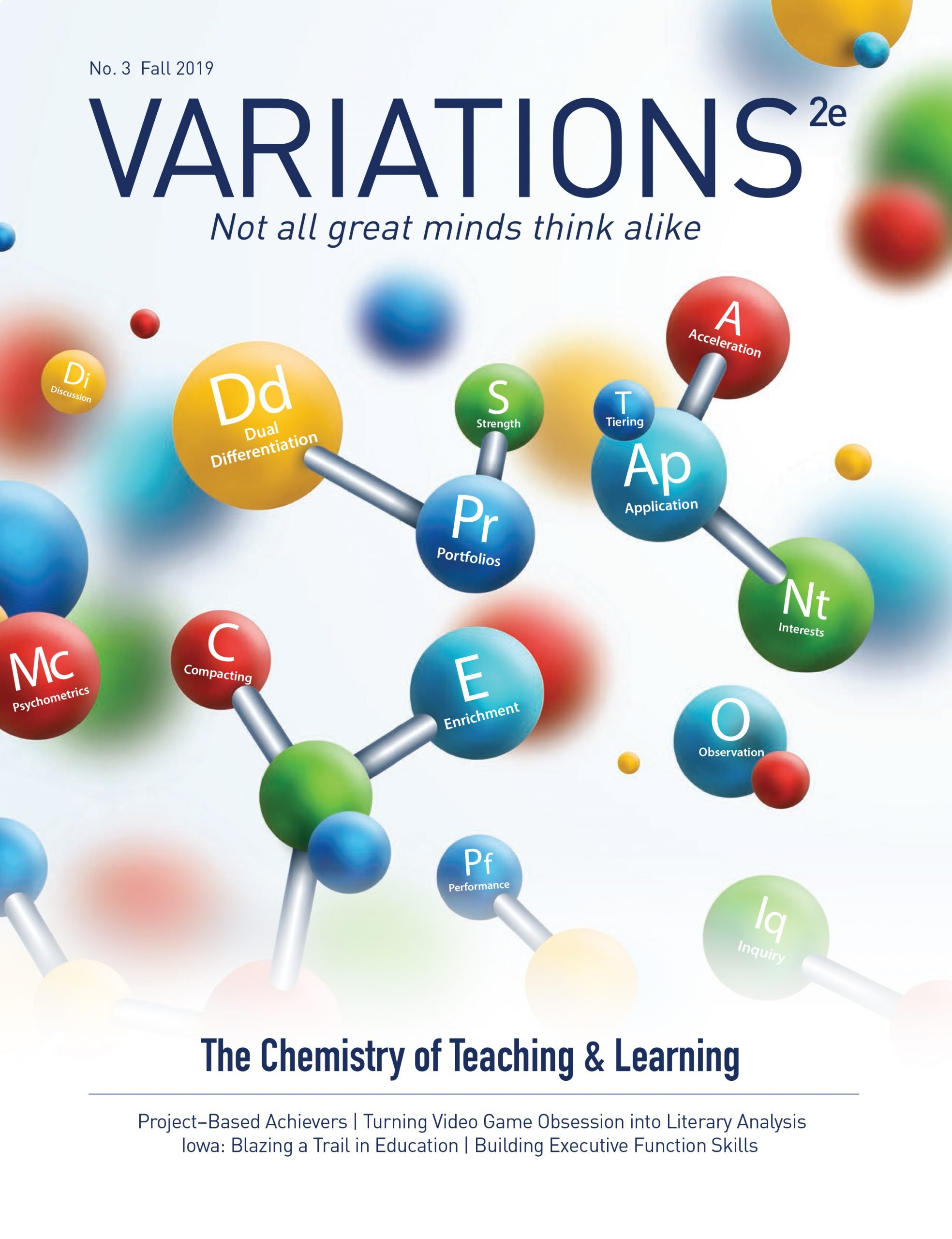 Variations2e Magazine Issue 3 Cover