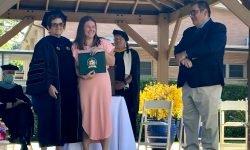 Bridges Graduate School ceremony